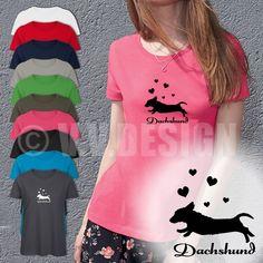 Dackel T-Shirt Frauen