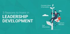 Leadership development in an organization plays a key part in increasing productivity levels & ROI. Here are a few reasons to invest in leadership development