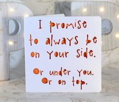 At your side Romance card by ParadisePapercraft on Etsy