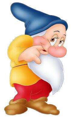 Bashful Snow White Dwarf PNG Image