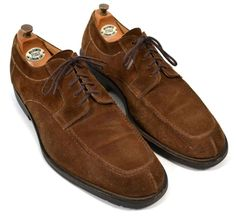 BRUNO MAGLI Brown Suede Split Toe Dress Shoes Mens Size 11 W #BrunoMagli #Oxfords