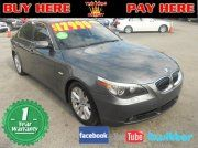 2007 BMW 550 i Sedan  at Coral Group Miami Used cars for sale  your bad credit dealer in Miami Florida. Buy here pay here 33142