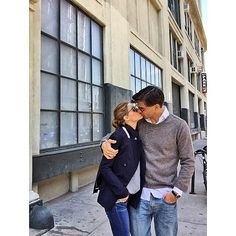 Olivia Palermo, with Johannes Huebl Perfect Couple, Best Couple, Beautiful Couple, Couple Style, Couple Goals, Olivia Palermo Lookbook, Olivia Palermo Style, Cute Celebrity Couples, Cute Couples