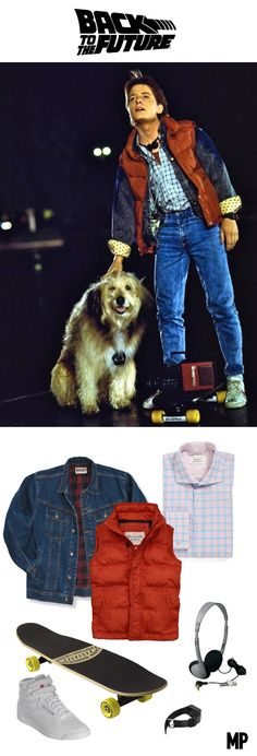 Back to the Future Costume Guide - Marty McFly | #HallowCostume Moviepilot.com