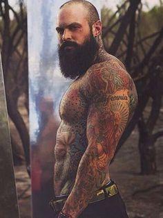 sexy hot male tattoos #totalbodytattoo #sexytattoo #manwithatattoo