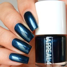 No. 160 Earthed teal  Appeal4  http://www.appeal4.dk/collections/neglelak/products/no-160-earthed-teal