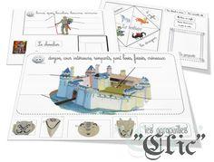 Cahier interactif : château et Moyen Age