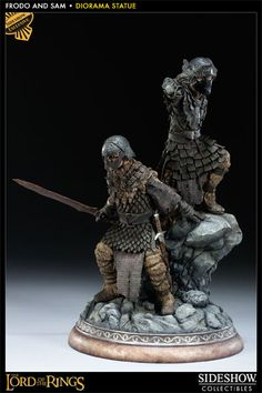 Sideshow Collectibles - Frodo and Samwise Polystone Statue