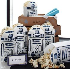 R2-D2™ Popcorn Bags | Pottery Barn Kids