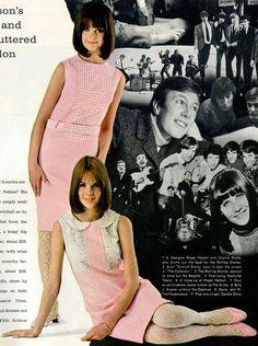 1960s British Pop Music and Fashions