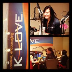 From KLOVE mornings in Indianapolis talking about Unglued. Craig, Amy & Kankelfritz, such sweet friends!