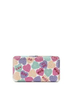 Candy+Hearts+Crystal+Clutch+Bag,+Multi+by+Judith+Leiber+Couture+at+Bergdorf+Goodman.