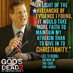 Come see an interview, Lee Strobel about his God's Not Dead 2 role and how real cases like the one in the movie can become! http://ratiochristi.org/blog/post/author-lee-strobel-makes-a-case-for-gods-not-dead-2/4590