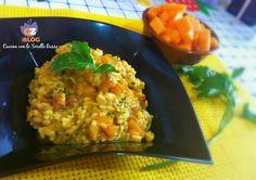 Risotto alla zucca, speck e spezie  Cucina con le Sorelle Russo