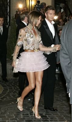 """The """"Carrie Bradshaw Clubwear""""   Victoria Beckham's 30 Most Memorable Outfits"""