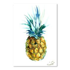 'Pineapple' Oil Painting Print