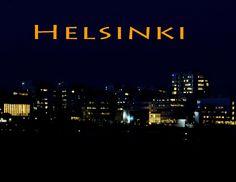Helsinki by night...Finland Photo Aili Alaiso