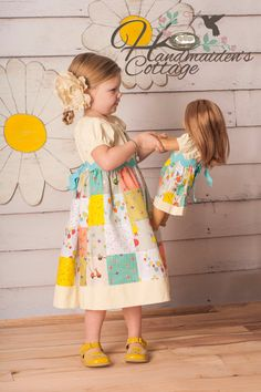 The Handmaiden's Cottage Patchwork Dress PDF by HandmaidensCottage, $10.00