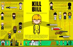 Kill Bill infographic
