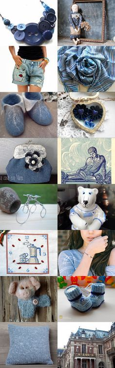 DENIM by Anna Margaritou on Etsy--Pinned+with+TreasuryPin.com