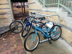 Photo in Bike rails - Google Photos