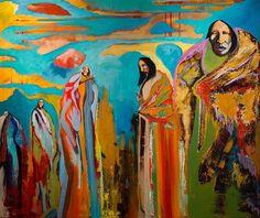 Keith BraveHeart, Oglala Lakota artist  kp