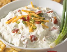 This Bacon Dip recipe is a guarantee hit for any get-together this summer.