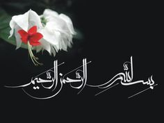 In the name of Allah Arabic Calligraphy Art, Arabic Art, Beautiful Names Of Allah, Beautiful Words, Rune Symbols, Religious Text, Allah Islam, Holy Quran, Great Words