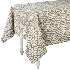"Threshold™ Trellis Rectangle Tablecloth (60x84"")"
