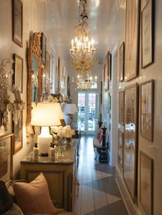 New Orleans- gallery style hanging from floor to ceiling. perfect for my foyer