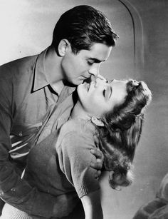 """""""This Above All"""" was the film that paired Tyrone Power with Joan Fontaine.  Other leading ladies he saved or wooed during his shortened career included: Rita Hayworth, Jean Peters, Kim Novak, Madeleine Carroll, Myrna Loy, Mia Zetterling, Terry Moore and Marlene Dietrich."""