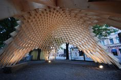 """Venice Biennale 2012: Finnish Pavilion presents """"New Forms in Wood"""""""