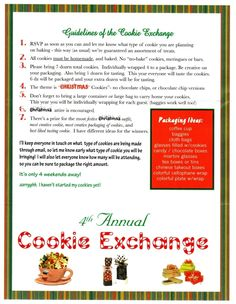 Guidelines for Exchange...like a few of them...prize also for best story??