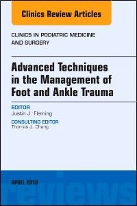 """""""Clinics in podiatric medicine and surgery : Advanced Techniques in the Management of Foot and Ankle Trauma"""". Philadelphia [etc. Podiatry, Trauma, Surgery, Philadelphia, Clinic, Medicine, Management, Ankle, Wall Plug"""