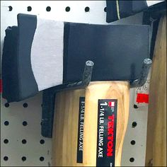 Normally I might have referred you directly to the Hammer Index Page for ideas on Tekton Hatchet Hook for Pegboard Display Pegboard Display, Hooks, Twin, Retail, Twins, Wall Hooks, Sleeve, Crocheting, Retail Merchandising