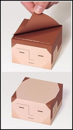 Not that he is balding. But these Balding Post-It Notes are an awesome & funny office gift! Haha, Guerilla Marketing, Intelligent Design, Just For Laughs, Laugh Out Loud, Packaging Design, Food Packaging, Nerdy, Geek Stuff