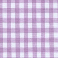 """Lilac 1/4"""" Gingham. for essies canopy and bedskirt?"""