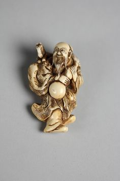 Yoshitomo (signed). Chōkarō Sennin, 18th century. Japanese. The Metropolitan Museum of Art, New York. Gift of Mrs. Russell Sage, 1910 (10.211.284)