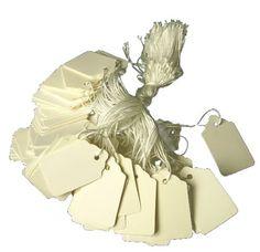 White Retail Tags W String Tie - MEDIUM Mighty Gadget http://www.amazon.com/dp/B00I3CD8BU/ref=cm_sw_r_pi_dp_ia4cub02RWPNT
