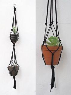 hanging garden (macrame)