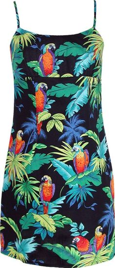 #parrot print in a #dress like the one on max payne 3 - ThingLink