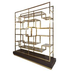 Brass Etagere By Romeo Rega