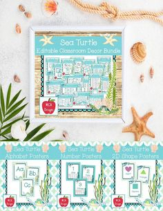 Check out my Sea Turtle Editable Classroom Décor Bundle features all you need to have a fresh new look for your classroom this fall! Check out the preview for a quick look at this colorful theme.   506 pages   My Sea Turtle Classroom Décor Bundle features my ENTIRE Sea Turtle collection including several editable features!  #mca3designs #tpt #teacherspayteachers #classroomdecor #classroomtheme #backtoschool #bundle #editable #classroommanagement