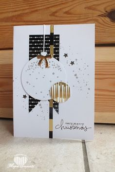 Magical Scrapworld: Christmas cards, Stampin' up!, celebrate today, winter wonderland