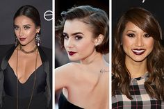 It's Officially Dark Lip Season! Check Out the Latest Celebs to Rock the Trend...