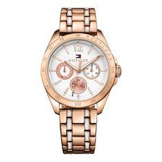 Tommy Hilfiger Uhr Metallgehäuse rosé/weiß 1781666 https://www.thejewellershop.com/ #roségold #tommyhilfiger #hilfiger #watch #uhr #steel #white #jewelry #watches #damenuhr #woman #schmuck