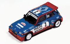 http://www.ixomodels.com/ Renault 5 Maxi Turbo Jean Ragnotti 1985