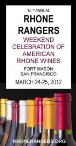 Get ye to Rhone Rangers on Sunday!  Tickets still available.