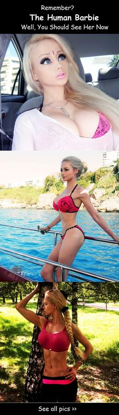 A few years ago, the world found out about Valeria Lukyanova, or The  Human Barbie, as she's more commonly known. When pictures of  her transformation were shared on the internet, people were shocked to  see how she'd changed.