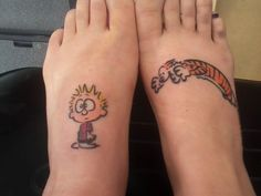 Best friends- calvin and hobbes